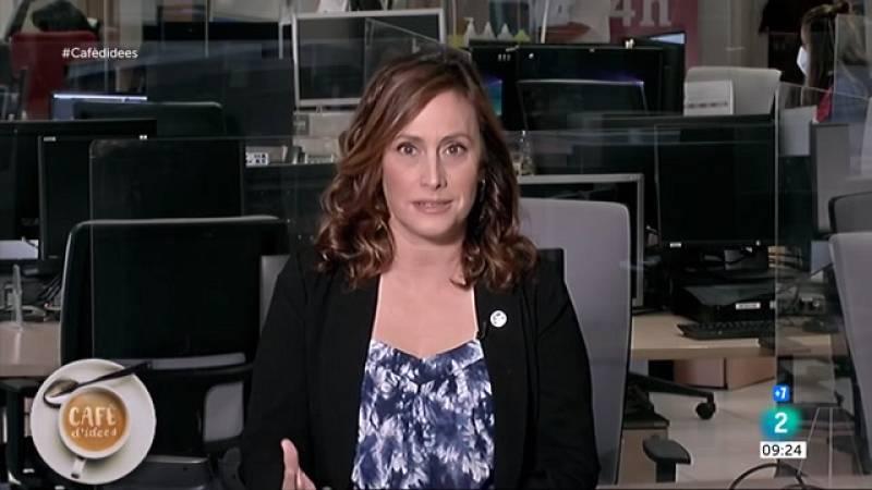 Myriam Redondo, de VerificaRTVE, cuenta enCafè d'idees los bulos que han surgido a partir de la erupción del volcán de La Palma.