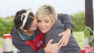 Terelu llora frustrada tras una pelea con Victoria Abril