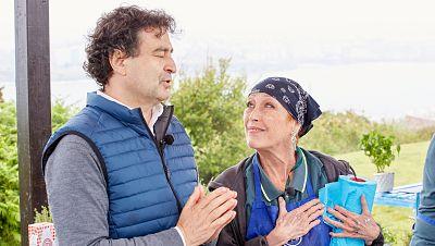 Verónica Forqué y Pepe llenan de paz y amor la merluza