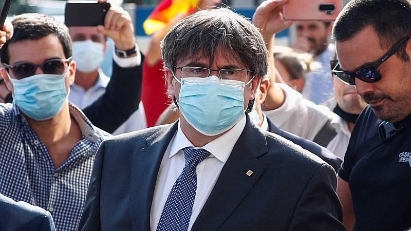 Italia suspende el proceso de extradición de Puigdemont a España
