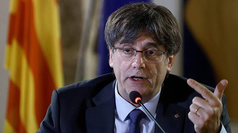 """Puigdemont: """"España utiliza el poder judicial para conseguir objetivos políticos"""" - Ver ahora"""