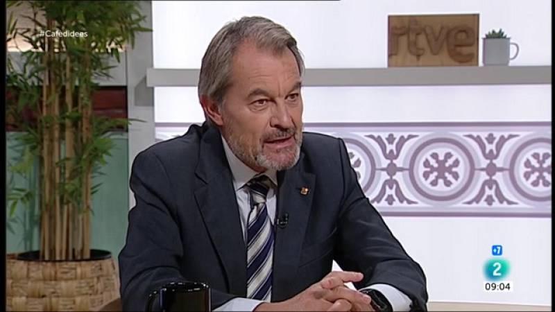 """Artur Mas: """"Ni l'amnistia ni el referèndum sortiran de la taula de diàleg"""""""