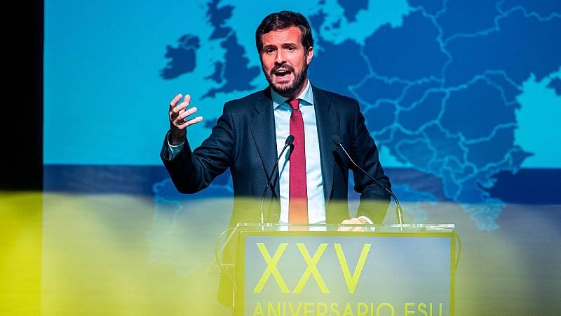 """Casado llevará al Constitucional la ley de vivienda y las comunidades del PP no la aplicarán: """"El intervencionismo es suicida"""""""
