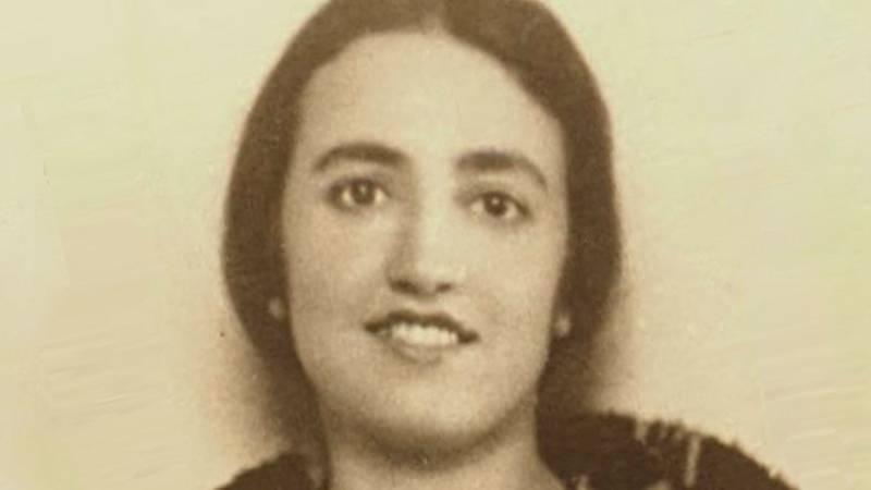 Jimena Fdez. de la Vega, primeira licenciada en medicina da USC e pioneira da xenética en España