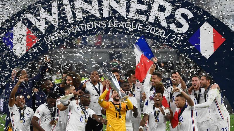 Francia levanta su primera Liga de Naciones