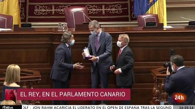 Parlamento - Otros parlamentos - Medalla de oro al parlamento canario - 09/10/2021