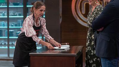 MasterChef I Victoria Abril no se corta con Jordi Cruz
