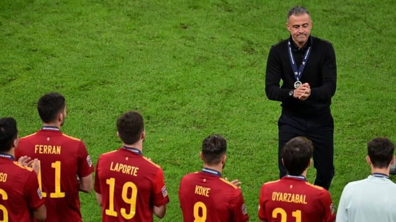 La selección española de Luis Enrique sale reforzada de la Liga de Naciones