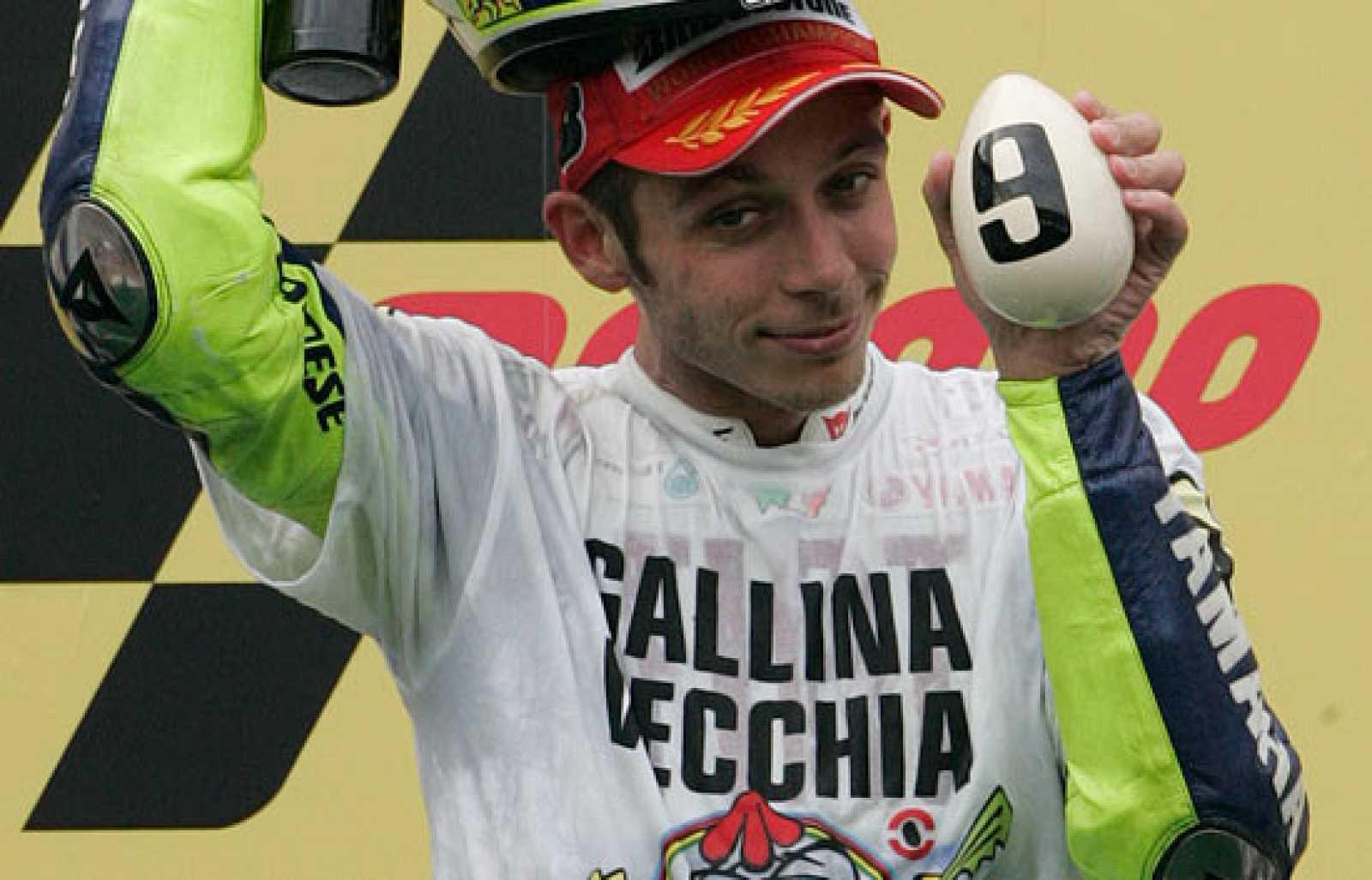 Rossi ha conseguido en el circuito de Sepang su noveno título mundial.