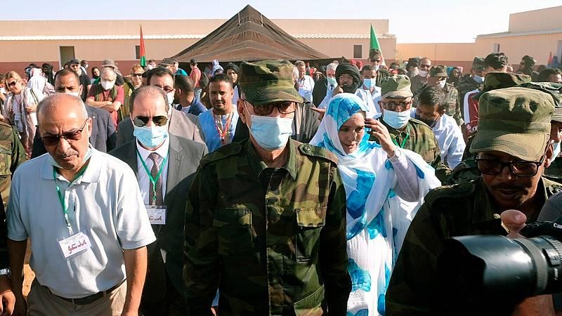 Gali reaparece en público en el Sáhara - Ver ahora