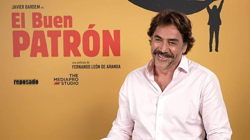 """Javier Bardem: """"Mi personaje en 'El buen patrón' es muy reconocible en este país"""""""
