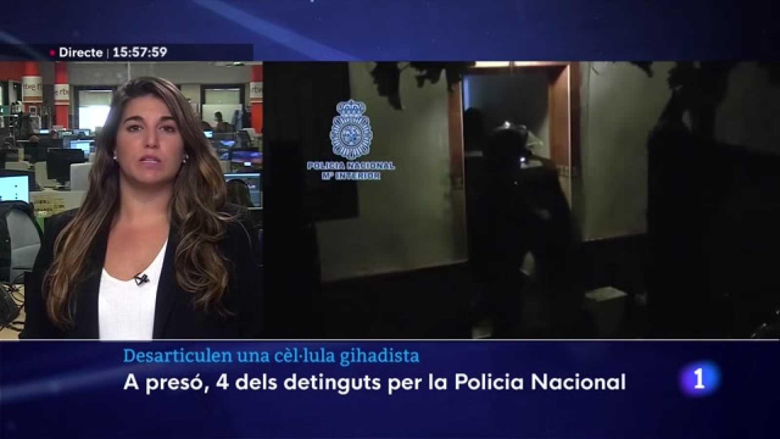 Detinguts 5 presumptes gihadistes a Barcelona i Madrid