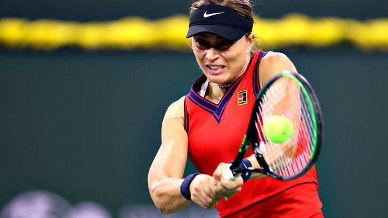 Paula Badosa se clasifica para semifinales en Indian Wells
