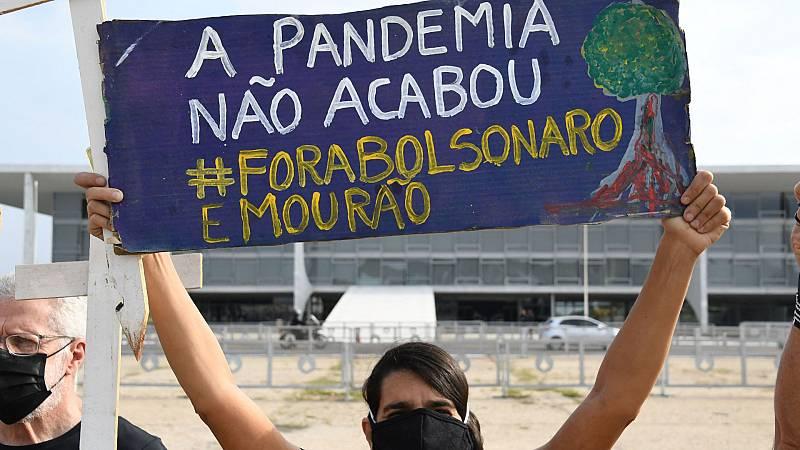 Brasil investiga la muerte de cientos de pacientes covid que fueron tratados con medicamentos experimentales