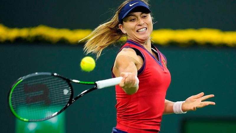 Paula Badosa se impone a Jabeur en semifinales con un doble 6-3