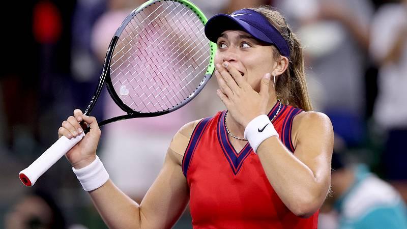 Paula Badosa jugará la final de Indian Wells tras vencer a Jabeur