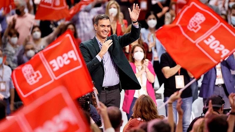 Sánchez reivindica el papel del PSOE y la socialdemocracia