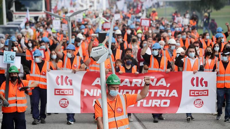 Protesta en Viveiro por el futuro de la comarca lucense de A Mariña