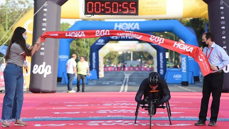 La media maratón de Sevilla vuelve entre grandes retos de superación