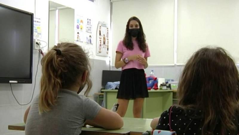 Más de 4.600 alumnos afectados por la erupción volcánica de La Palma vuelven a las aulas