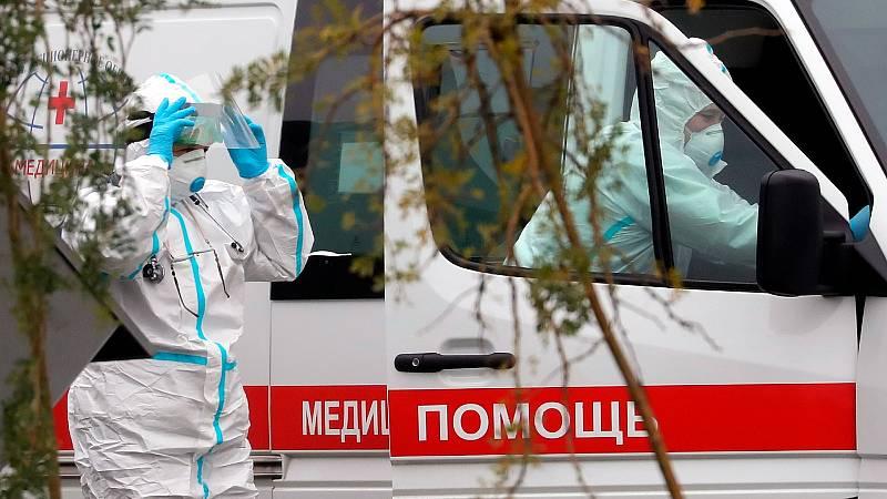 Los contagios y fallecidos en Rusia no dejan de crecer a pesar de la vacuna