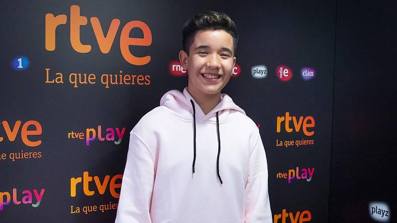 "Eurovisión Junior 2021 - Levi Díaz interpreta ""Reír"" en directo"