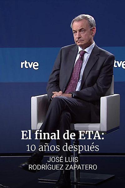 10 años sin ETA. Entrevista a Zapatero