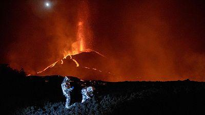 Un superordenador contra el volcán de La Palma