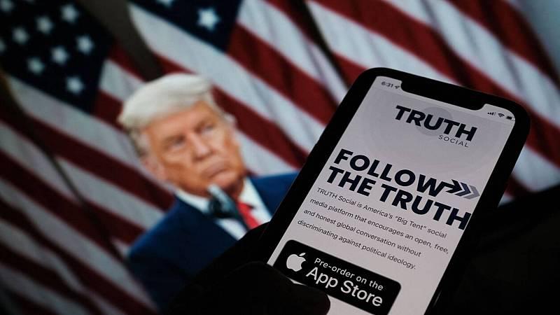 Trump anuncia el lanzamiento de 'TRUTH Social', su propia red social