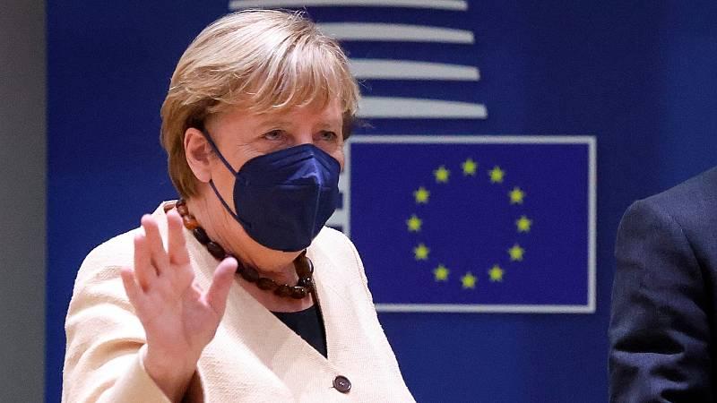Los Veintisiete despiden a Angela Merkel en el Consejo Europeo
