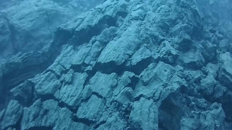Los científicos del PEVOLCA muestran nuevas imágenes submarinas del delta lávico