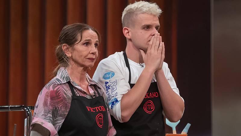 Victoria Abril eliminada de las cocinas de MasterChef
