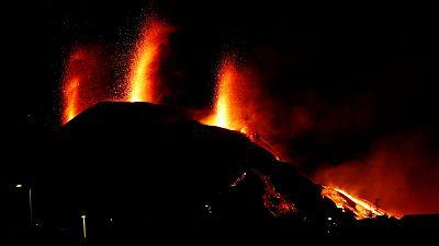"""El volcán de La Palma se encuentra en momento de """"máxima actividad"""""""
