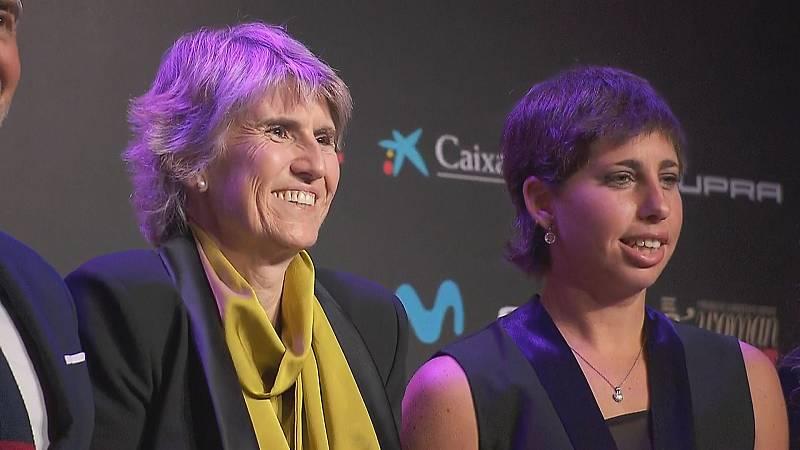 Paloma del Río y grandes campeonas reciben los I Premios de la Mujer en el Deporte -- Ver ahora