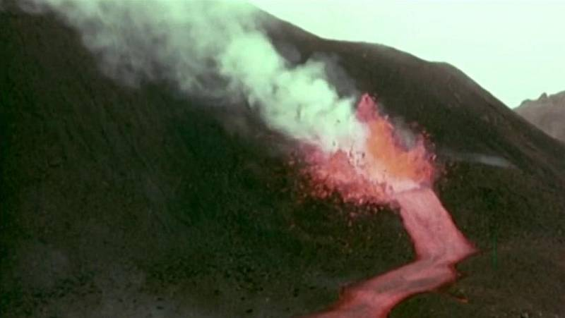 Cincuenta años del Teneguía: 40 millones de metros cúbicos de lava en 24 días de erupción