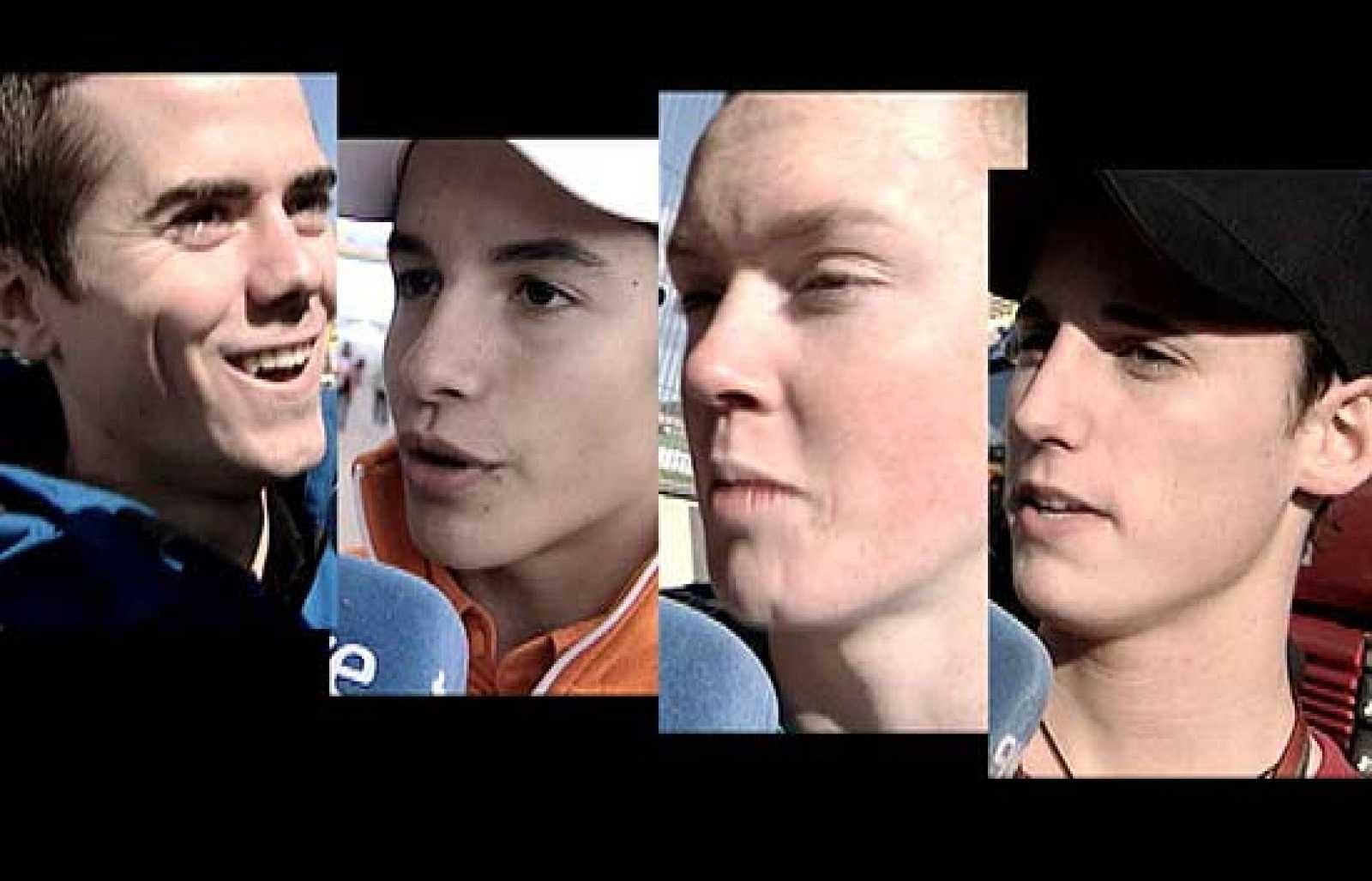 La próxima temporada de 125 cc promete ser apasionante. Cuatro jóvenes pilotos (Marc Márquez, Nico Terol, Bradley Smith y Pol Espargaró) aseguran un nivel muy alto.