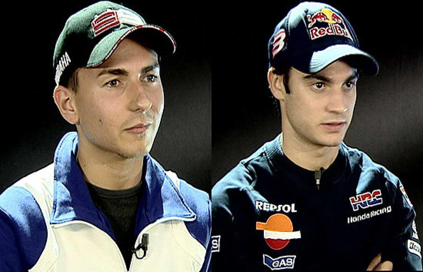Jorge Lorenzo y Dani Pedrosa han analizado la temporada 2009 en exclusiva para TVE.