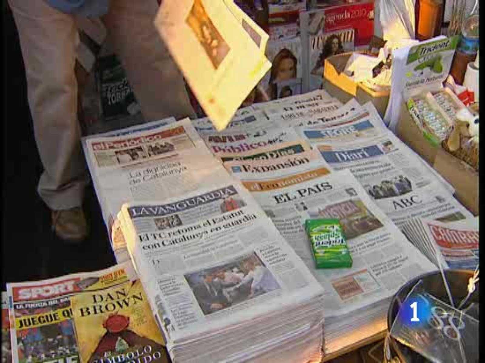12 periódicos editados en Cataluña publican hoy un mismo editorial en defensa del Estatut