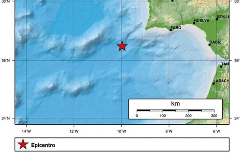 Esta madrugada se ha registrado un terremoto de 6,2 grados en la escala de Richter en el océano Atlántico