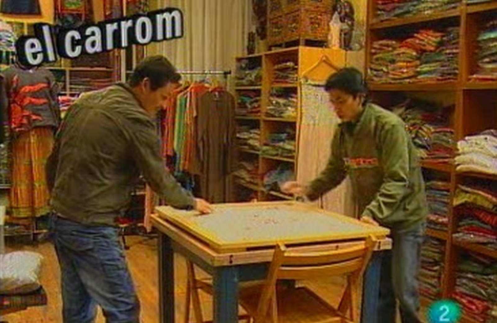 Babel en TVE - El juego: El carrom