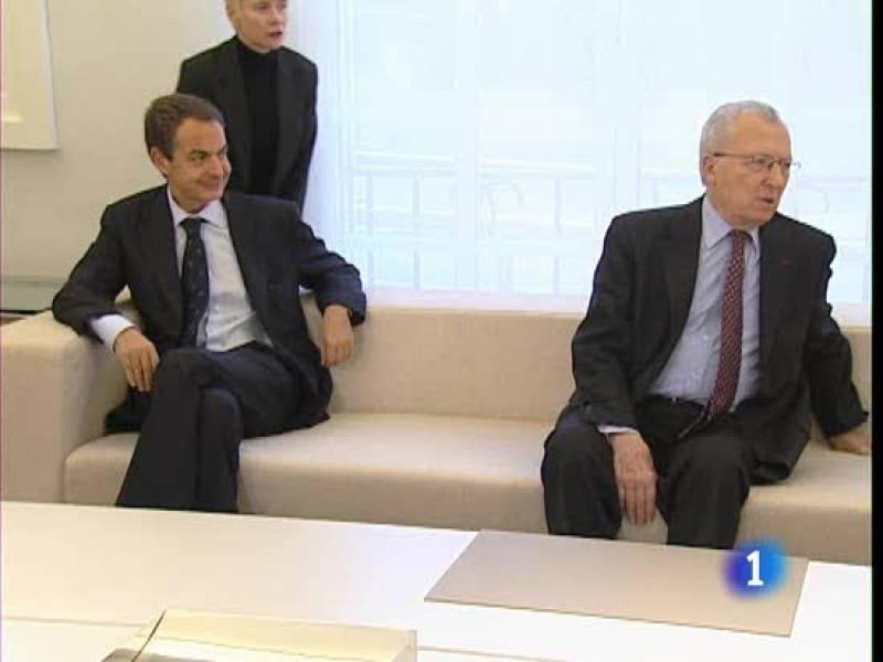 Zapatero se reune con sus expertos