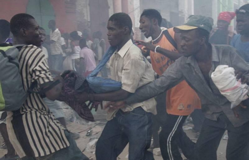 Quinta noche de desesperación en Haití