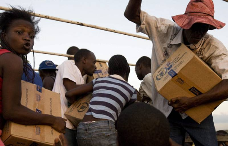 Inseguridad y falta de infraestructuras dificultan reparto de ayuda en Haití