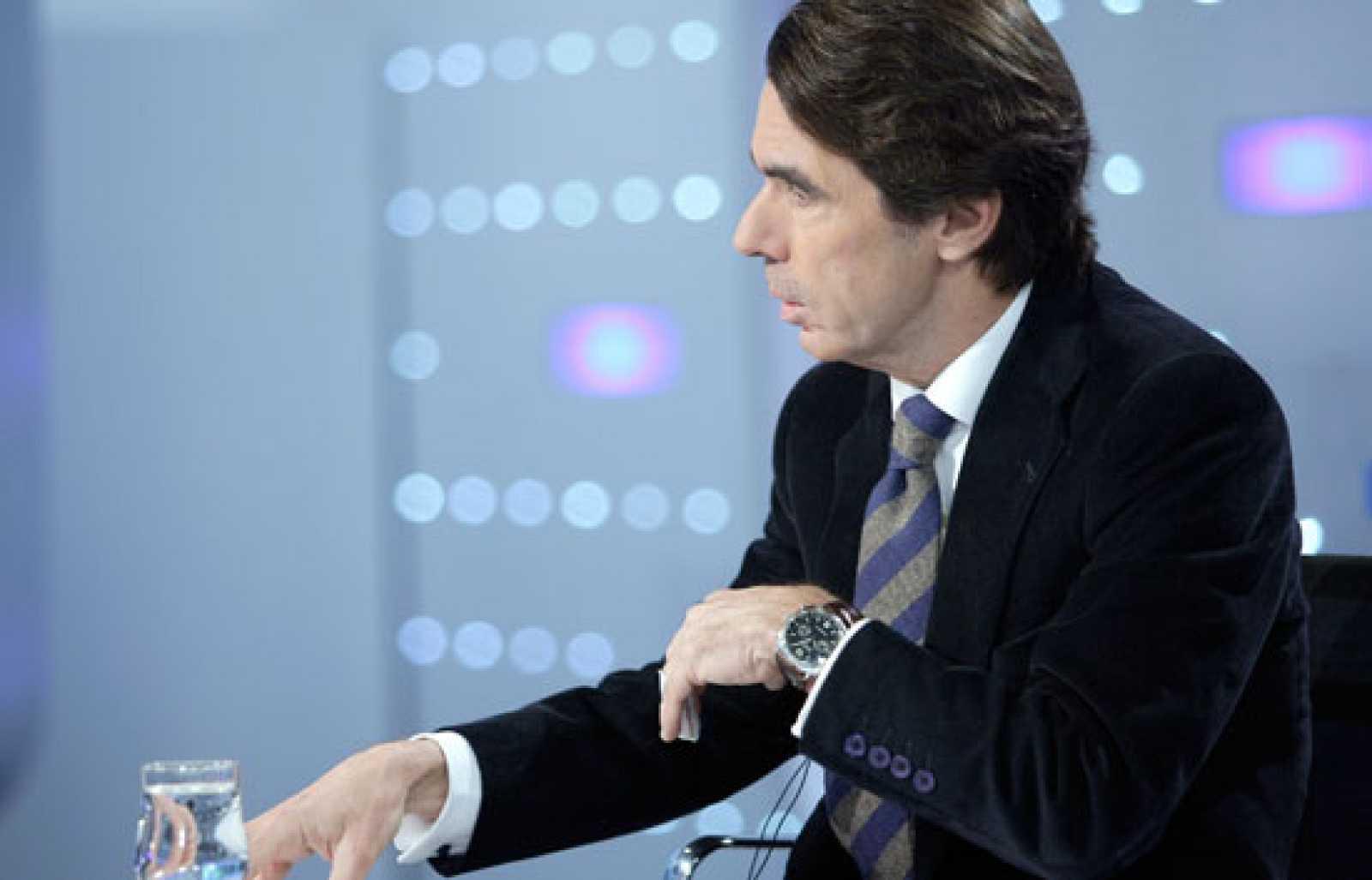 Aznar en Los Desayunos de TVE