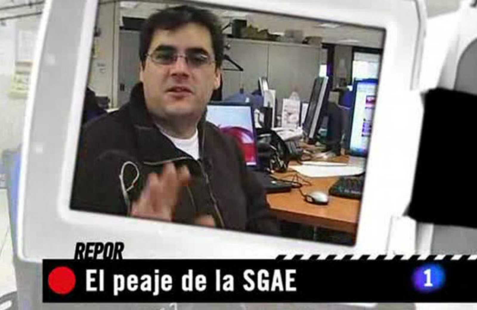 Repor: El peaje de la SGAE.