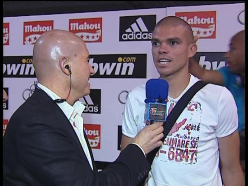 Pepe: 'Este triunfo es muy gratificante para nosotros'.