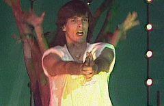 Miguel Bosé en el programa 'Fantástico' (1979)