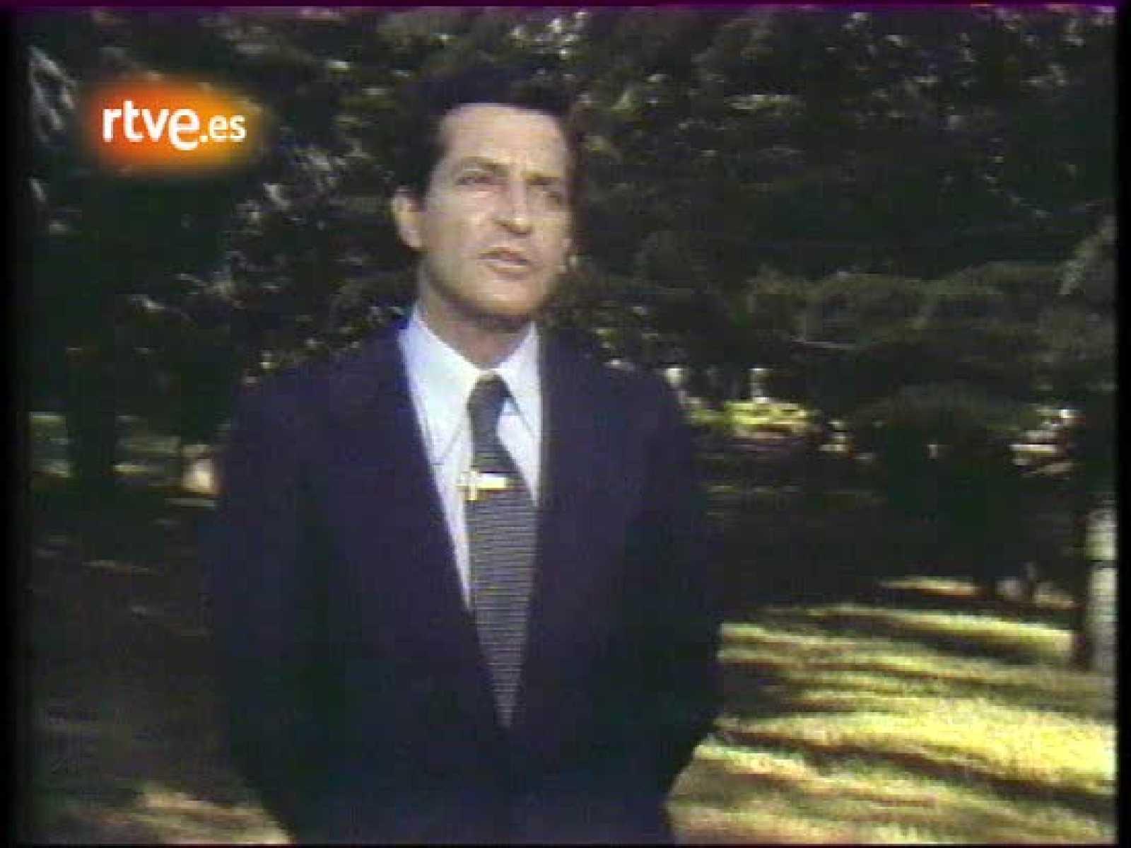 Mensaje de Adolfo Suárez tras su victoria en las elecciones de 1977
