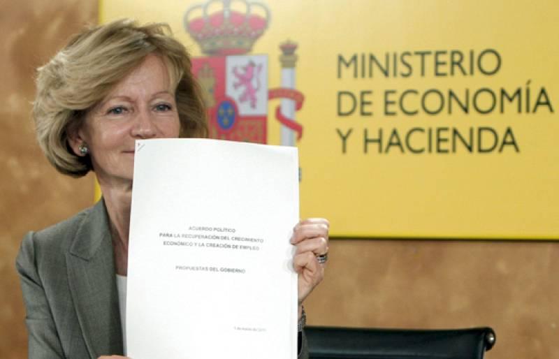 Los partidos políticos dan su opinión sobre el documento  con las propuestas para un pacto económico.
