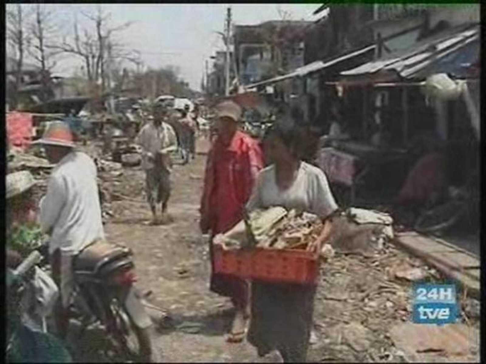 Termina sin incidentes la votación del referéndum propuesto por la Junta Militar en Birmania